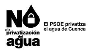 no privatización agua